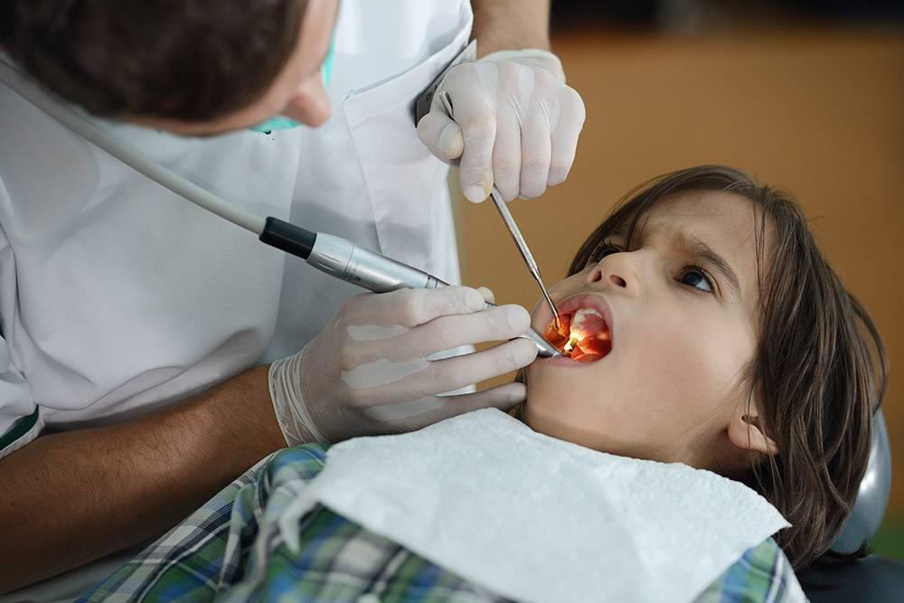 Dentist Office Hispanic Child